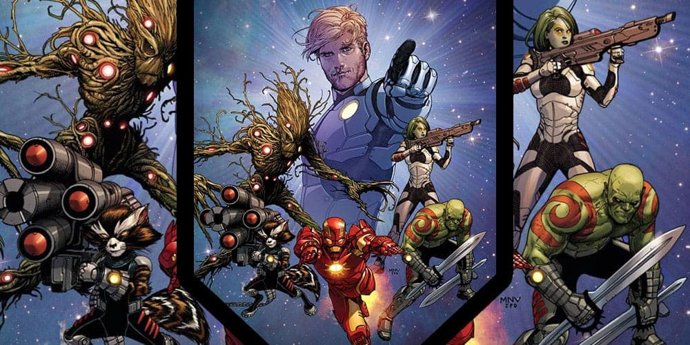Where to start reading Guardians of the Galaxy