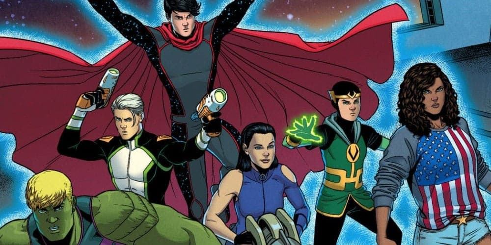 Where to start reading Young Avengers