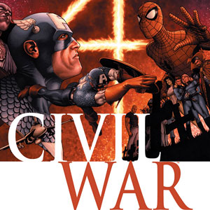 Cover of Civil War #1